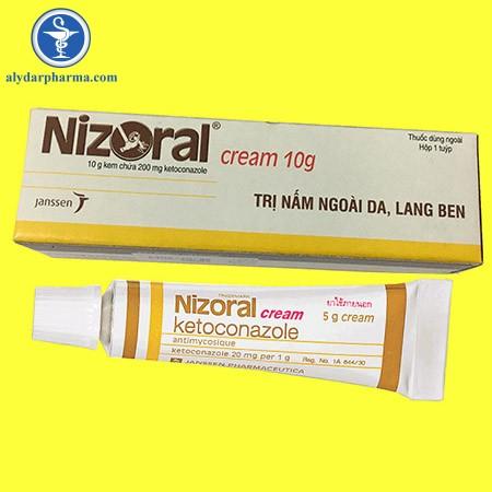 Thông tin về thuốc nizoral-cream 2%