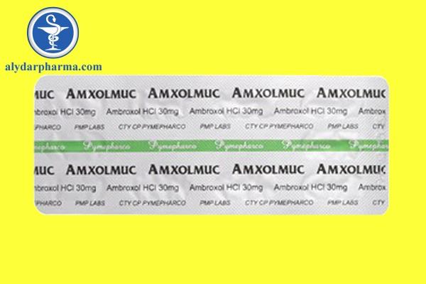 Tương tác củaAmxolmuc 30mg với các thuốc khác và các dạng tương tác khác
