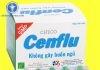 Hình ảnh hộp và vỉ thuốc Cenflu