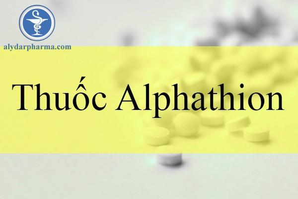 Thuốc alphathion là thuốc gì