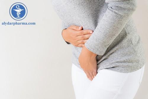 Đau bụng là một trong những tác dụng phụ của thuốc Fungiact