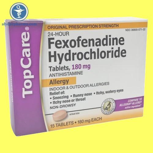 Hình ảnh: Hộp thuốc fexofenadine