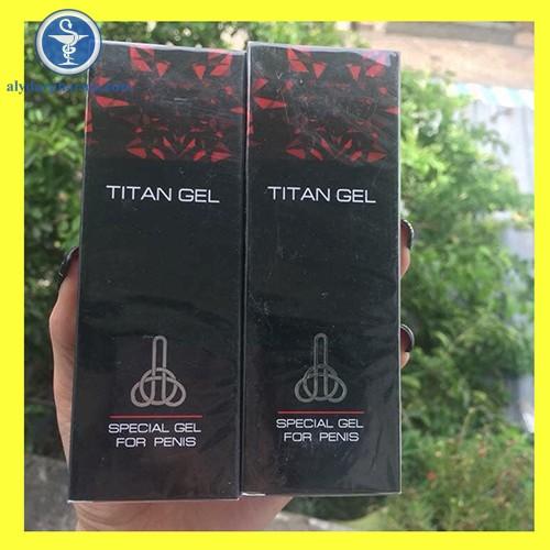 Hộp thuốc Titan Gel