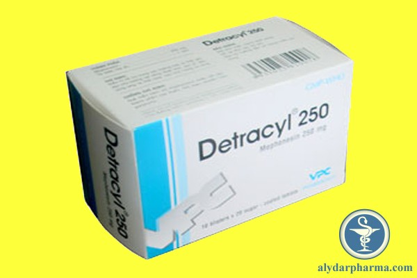 Thuốc Detracyl 250