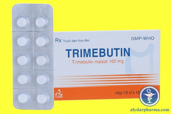 Thuốc Trimebutin là một thuốc thuộc nhóm thuốc đường tiêu hóa điều trị các triệu chứng như khó tiêu, cảm thấy bụng trướng hơi, ỉa chảy