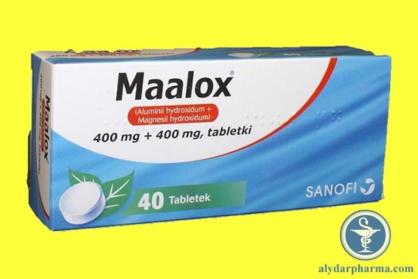 Viên nhai Maalox có tác dụng làm giảm dạ dày tiết quá nhiều axit, giúp cải thiện tình trạng đầy hơi, khó tiêu.