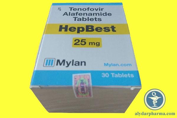Tương tác thuốc Hepbest 25mg