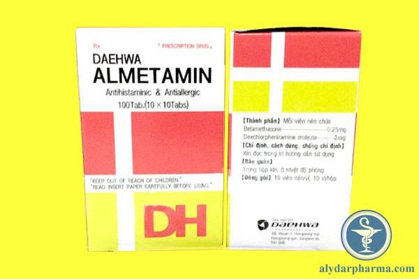 Almetamin là thuốc gì?