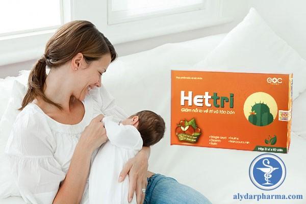 Phụ nữ sau sinh có dùng được Hettri không?