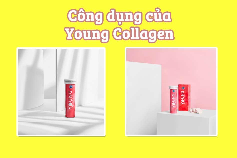 Công dụng chính của Young Collagen