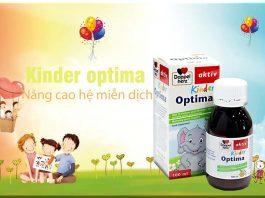 Kinder optima sản phẩm cho sự phát triển của trẻ nhỏ