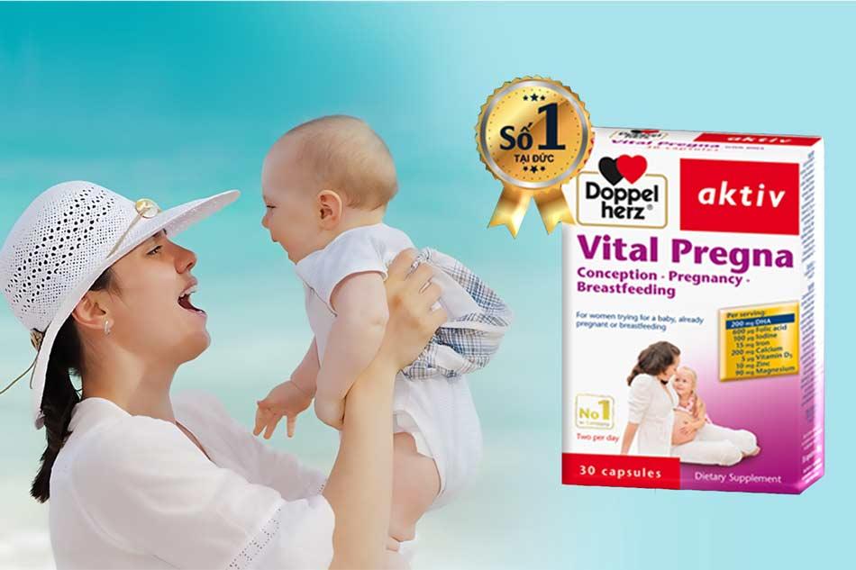 Doppelherz Vital Pregna sản phẩm được hơn 70 quốc gia tin dùng