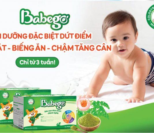 Sữa non thảo dược Babego