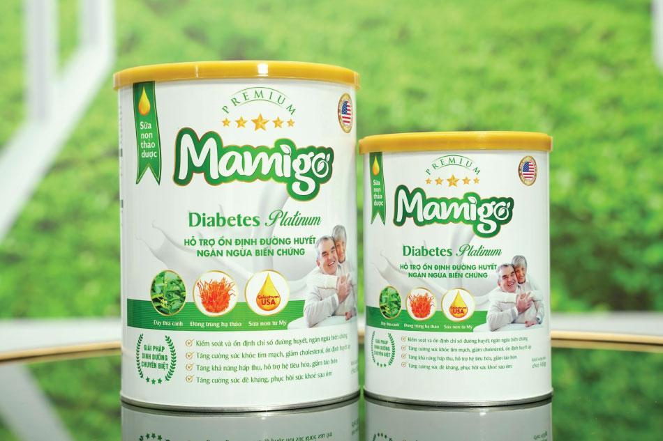 Bác sĩ khuyên tôi dùng sữa tiểu đường thảo dược Mamigo Diabetes Platinum