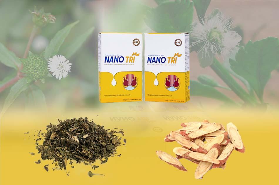 Thành phần Nano Trĩ