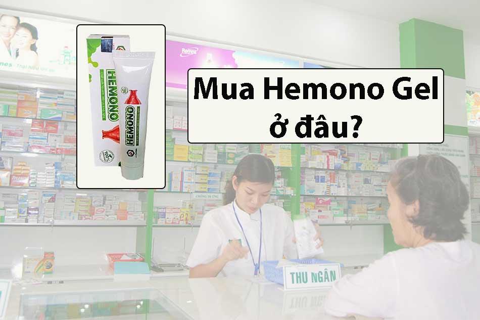 Hemono Gel chính hãng mua ở đâu?