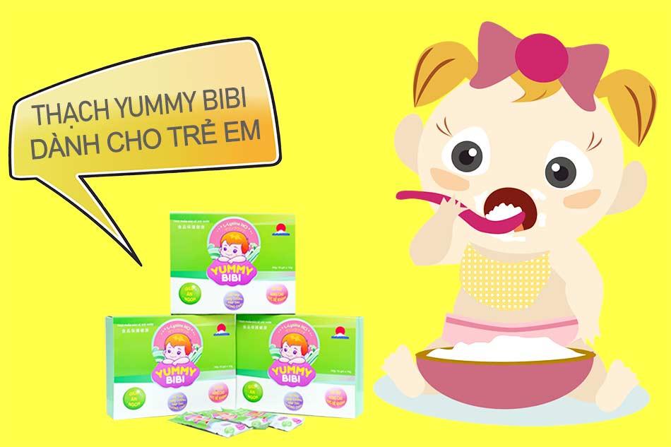 Yummy Bibi dành cho trẻ em