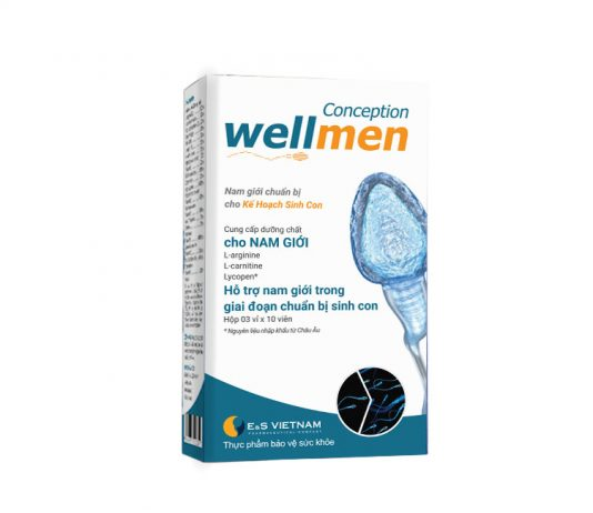Wellmen bổ tinh trùng