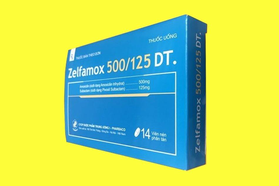 Zelfamox 500/125 DT là thuốc gì?